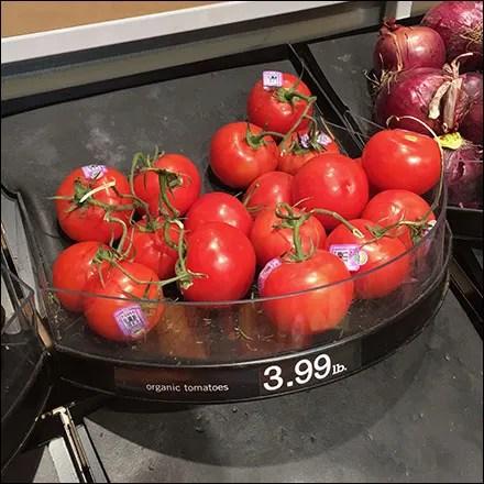Market 32 Organic Produce Tray Details