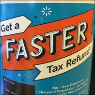 Netspend Faster-Tax-Refund Prepaid Card