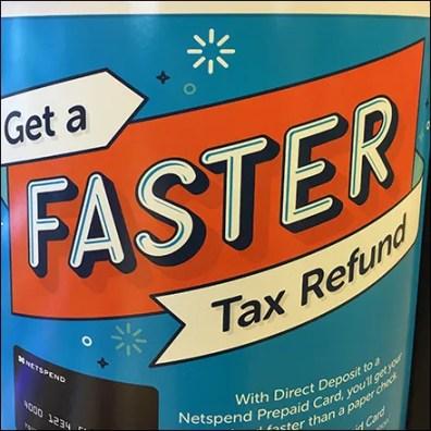 Netspend Faster-Tax-Refund Prepaid Card