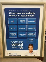 RiteAid CoronaVirus Vaccine Search Menu