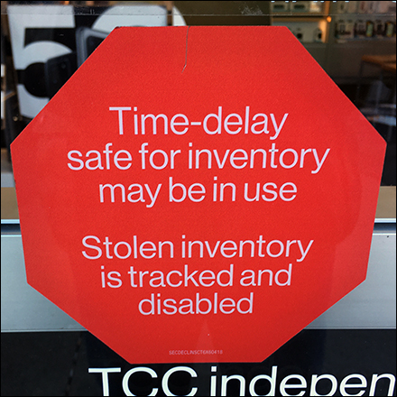 Stolen Inventory Tracked and Disabled