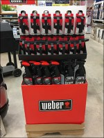 Weber Grill Accessories Corrugated Display