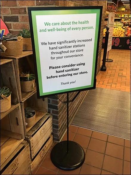 CoronaVirus Sanitizer Stations Multiply In-Store