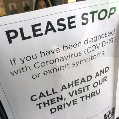 CoronaVirus Victims Call-Ahead Service