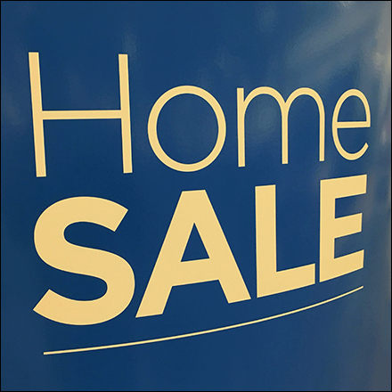 Freestanding Home Sale Upright Sign