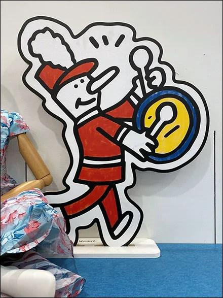Cartoon Band Visual Merchandising