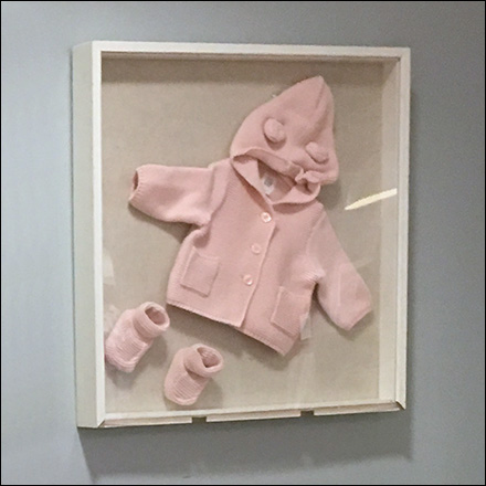 Infant Apparel Shadowbox Display