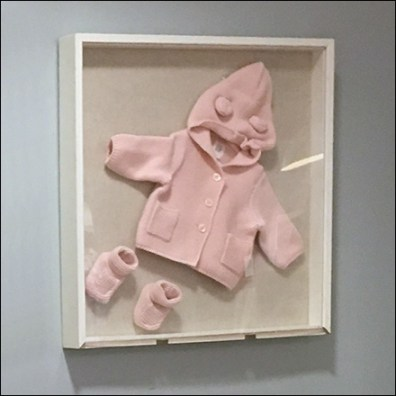 Infant Apparel Shadowbox Display
