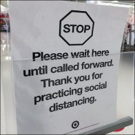 CoronaVirus Wait-Here Self-Checkout Instructions