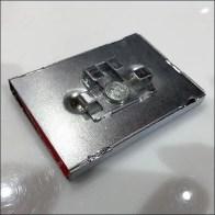 Magnetic Disk-Finial Label Holder