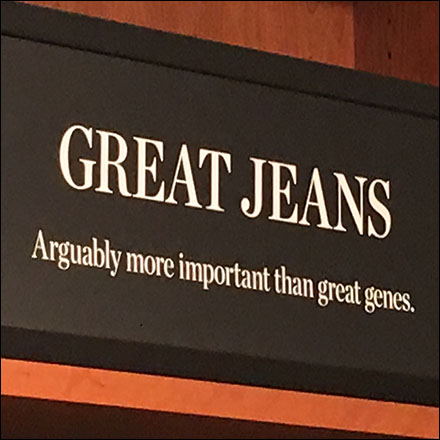 Great Jeans Better Than Great Genes