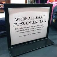 Purse Personalization Monogram and More
