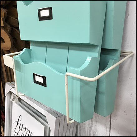 Mail Center Frame Holder Merchandising