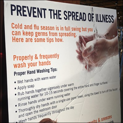 CoronaVirus Facts Prevent Illness Entry Sign