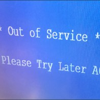 Out-of-Service Price Scanner Message