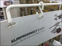 Gondola-Upright S-Hook Sign Arm