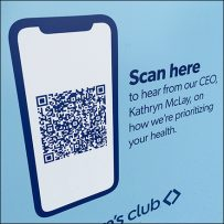 CoronaVirus CEO QR-Code Message