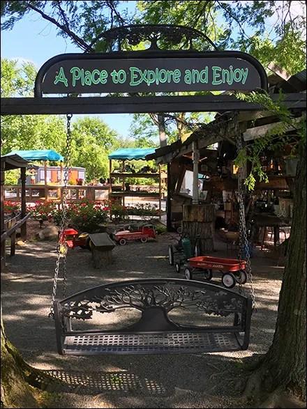 Explore-And-Enjoy Garden Swing Redux