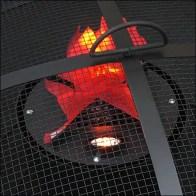 Faux-Flame Fire-Pit-Prop Merchandising