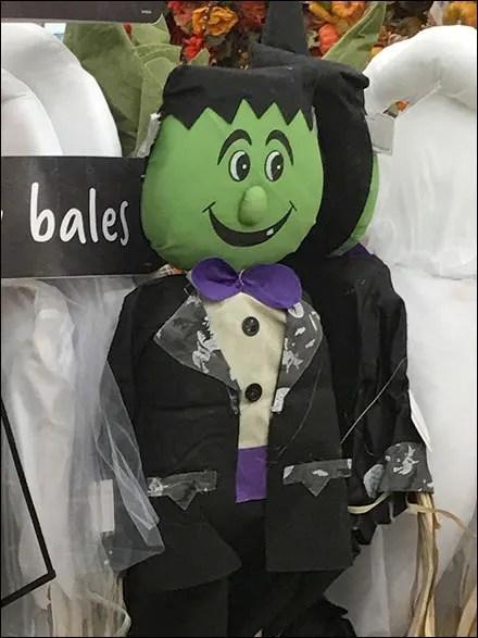 Happy Halloween Scarecrow Arrives Early
