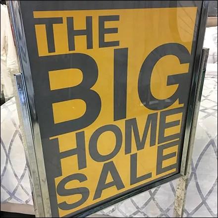 Big Home Sale Storewide Signing