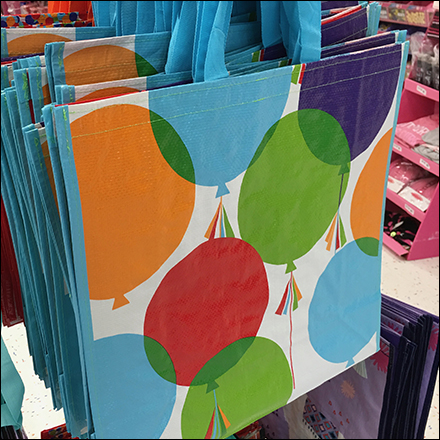 Four-Way Reusable Tote Bag Rack