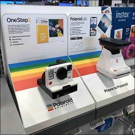Traditional-vs-Trendy Polaroid Merchandising