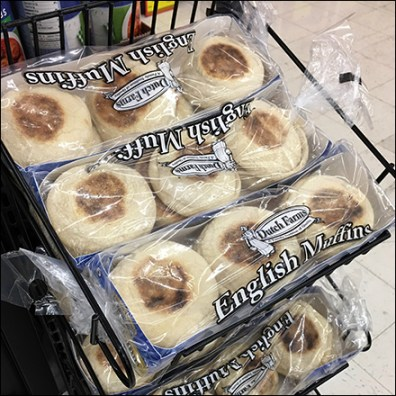 English-Muffin Open-Wire Declined Rack