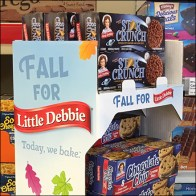 Fall Temposrary Point-of-Purchase Display