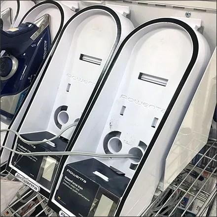 Rowenta Shelf-Top Steam Iron Holsters