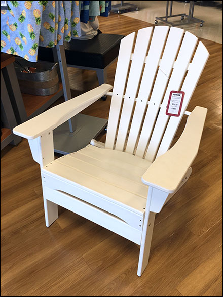 Tommy-Bahama Recycled Adirondack Chair