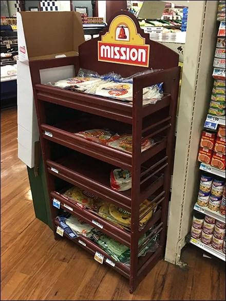 Mission Flatbread Traditional Wood Rack