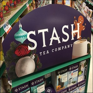 Stash Tea Point-of-Purchase Display