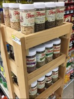 Private-Label Sauces-and-Spices Wood Rack
