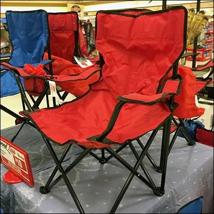 Lawn Chair Pyramid Merchandising