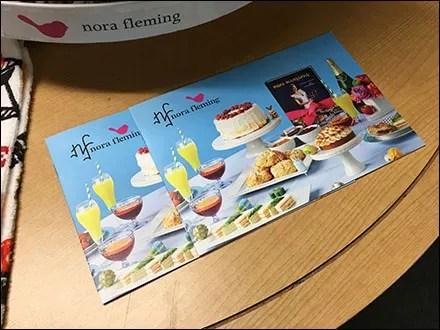 Nora Fleming Branded Takeaway Brochures
