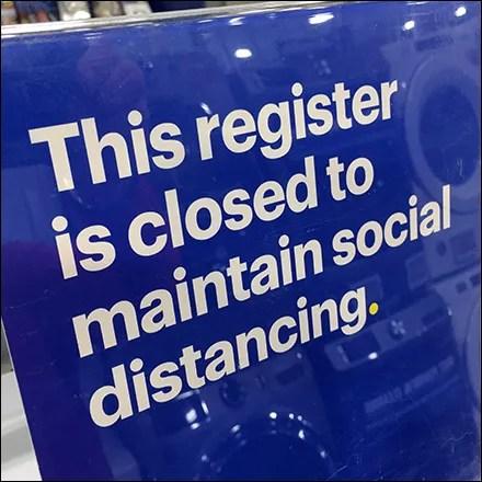 CoronaVirus Register Closed Mandate