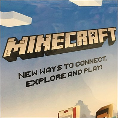 Explore Minecraft Merchandising Display