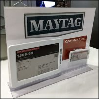 Maytag-Branded Open-Box Sale Sign