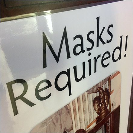 CoronaVirus Halloween Masks Required Feature