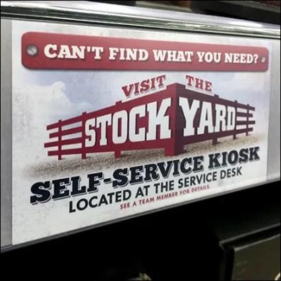In-Store Find-It Self-Service Kiosk