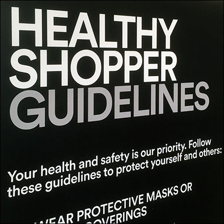 Simon Properties Healthy Shopper Mall Guidelines