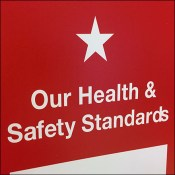 Macy's CoronaVirus Safety Standards Sign