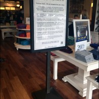 Ralph Lauren CoronaVirus Safety Assurance Sign
