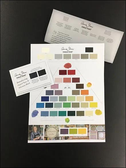 Branded Chalk Paint Brochure Takeaway