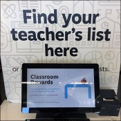 Find Your Teacher's List Online In-Store