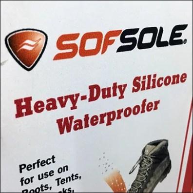 SofSole Silicon Waterproofer Bottle Sidekick