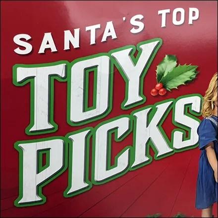Santa's Top-Toy-Picks In-Store Sign