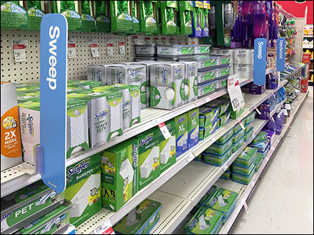 Broom-Aisle Category Definition Signs