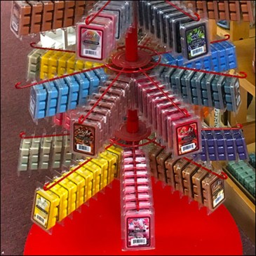 High-Visibility Candle-Art Spinner Tower